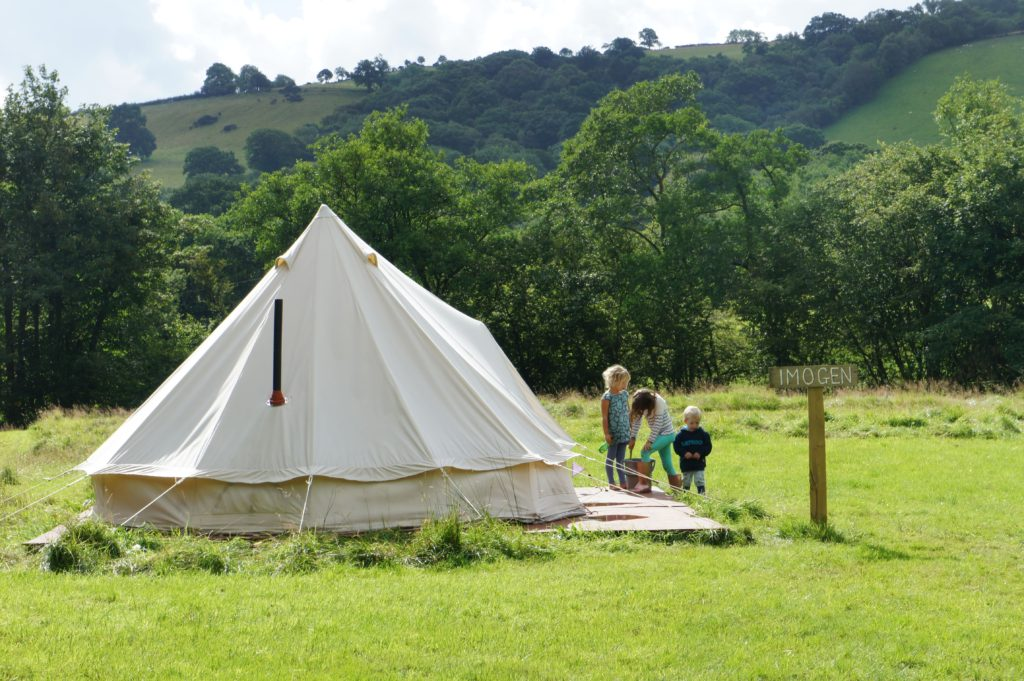 Camping in the UK's South West